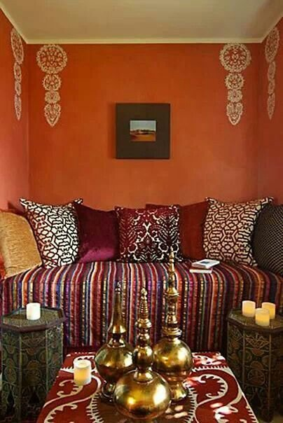 Best Burgundy Stripes House Ideas Home Decor Moroccan With Pictures
