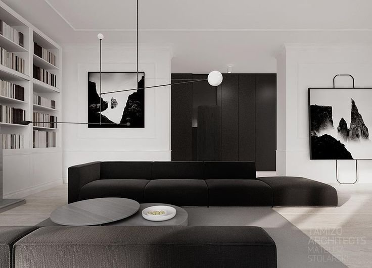 Best 25 Monochrome Interior Ideas On Pinterest Scandinavian Interior Living Room Black And With Pictures