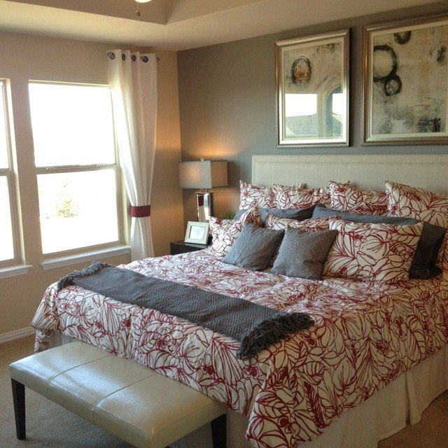 Best 25 Grey Red Bedrooms Ideas On Pinterest Red With Pictures