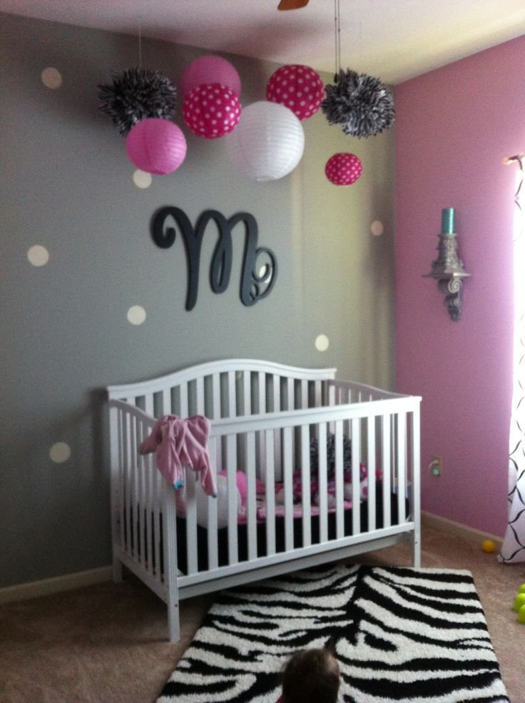 Best 366 Best Pink And Grey Rooms Images On Pinterest Nursery With Pictures