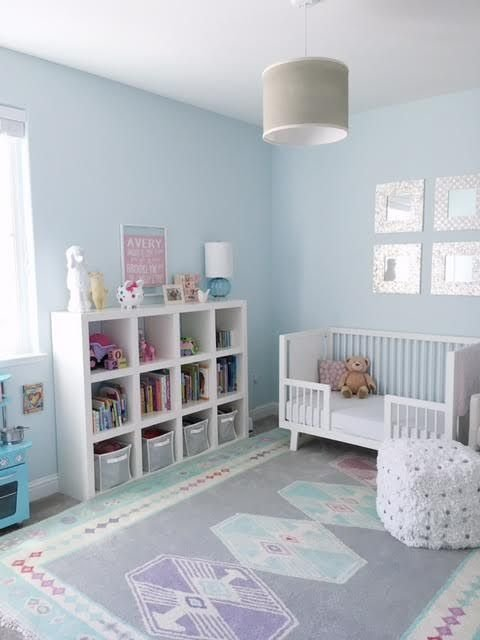 Best Blue Girl S Room Benjamin Moore Polar Ice 1660 With Pictures