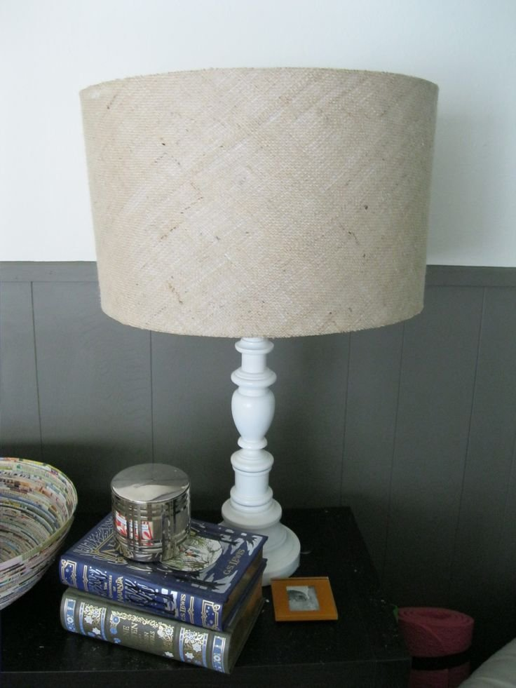 Best 25 Burlap Lamp Shades Ideas On Pinterest Shabby With Pictures