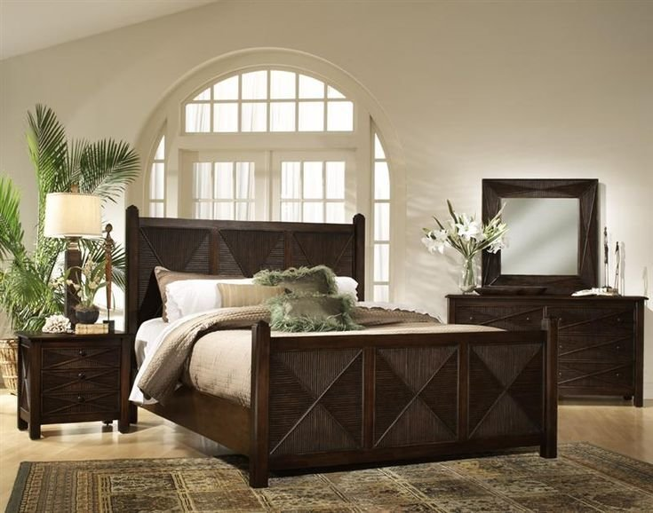 Best 19 Best Tropical Rattan And Wicker Bedroom Furniture Images On Pinterest Wicker Bedroom With Pictures