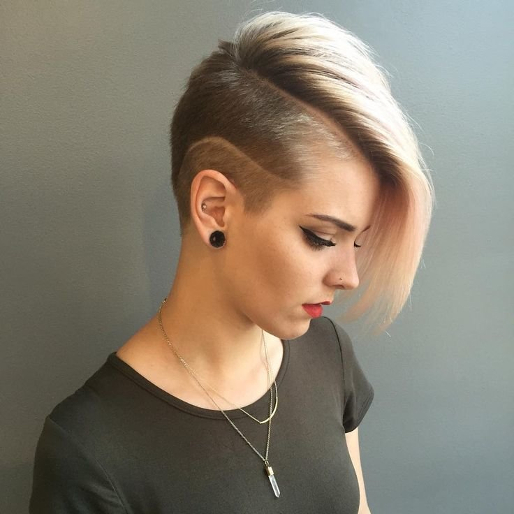 Free 50 Best Shaved Hairstyles For Women In 2017 Trends In Wallpaper