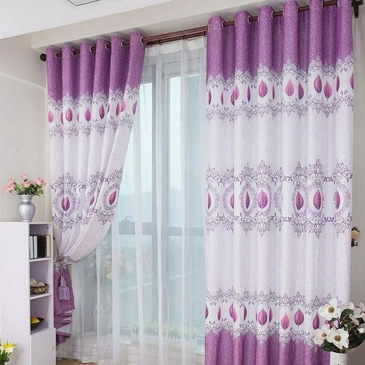 Best Interior Lovable Double Layer White Curtains And Chic With Pictures