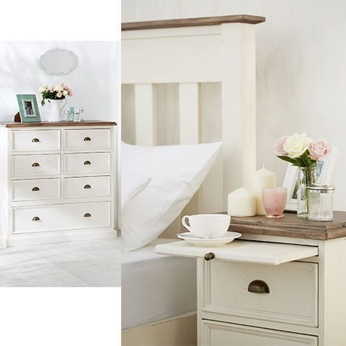 Best The Cornwall Bedroom Suite Features Natural And White With Pictures