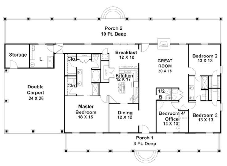 Best 57 Best House Plans Images On Pinterest Country Homes With Pictures