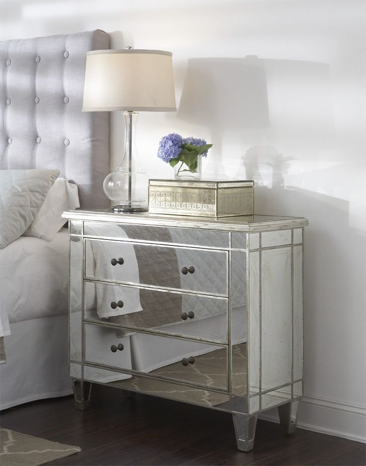 Best 25 Mirrored Nightstand Ideas On Pinterest Mirror Furniture Bedrooms And Mirrored Furniture With Pictures