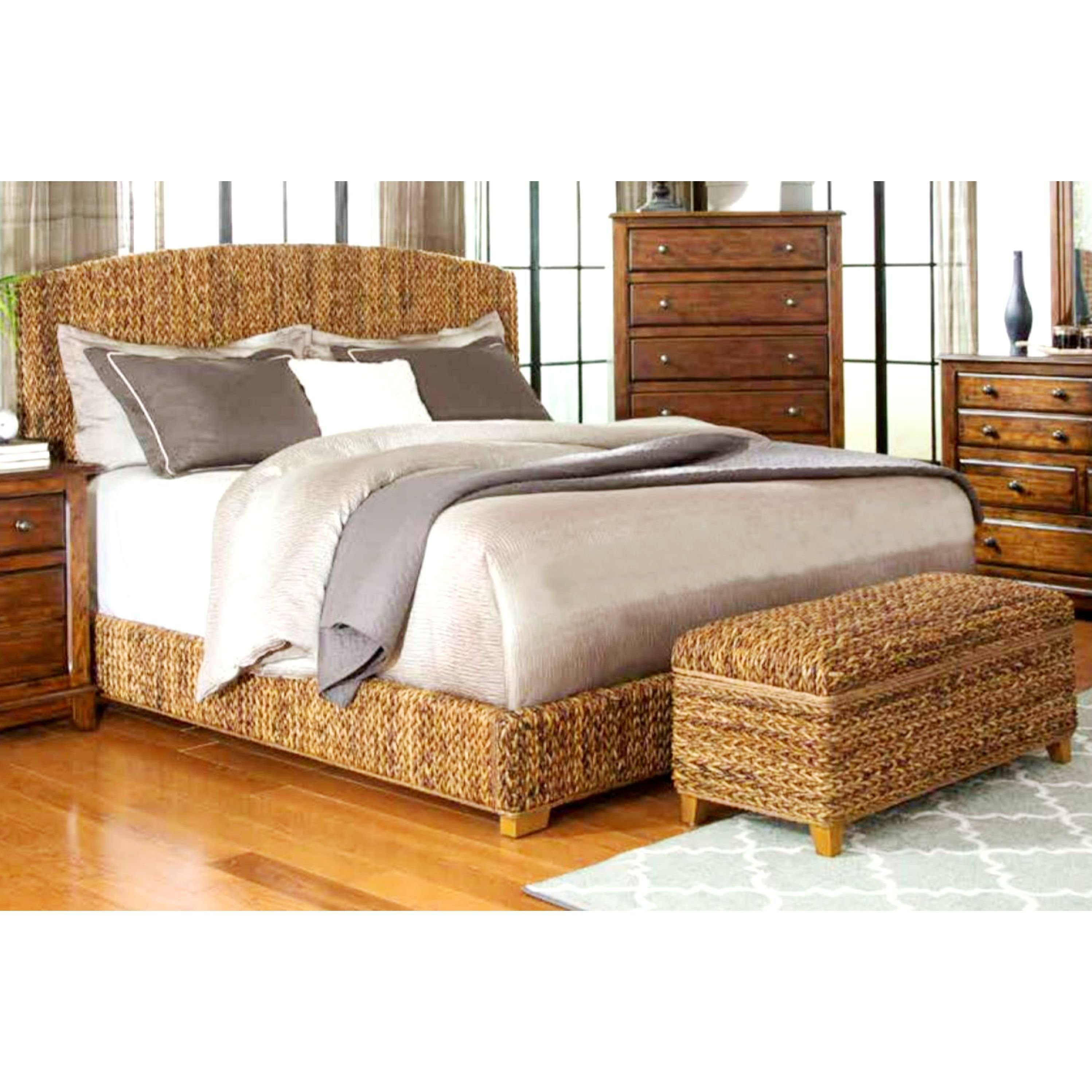 Best Modern Country Style Hand Woven Banana Leaf Bed With With Pictures
