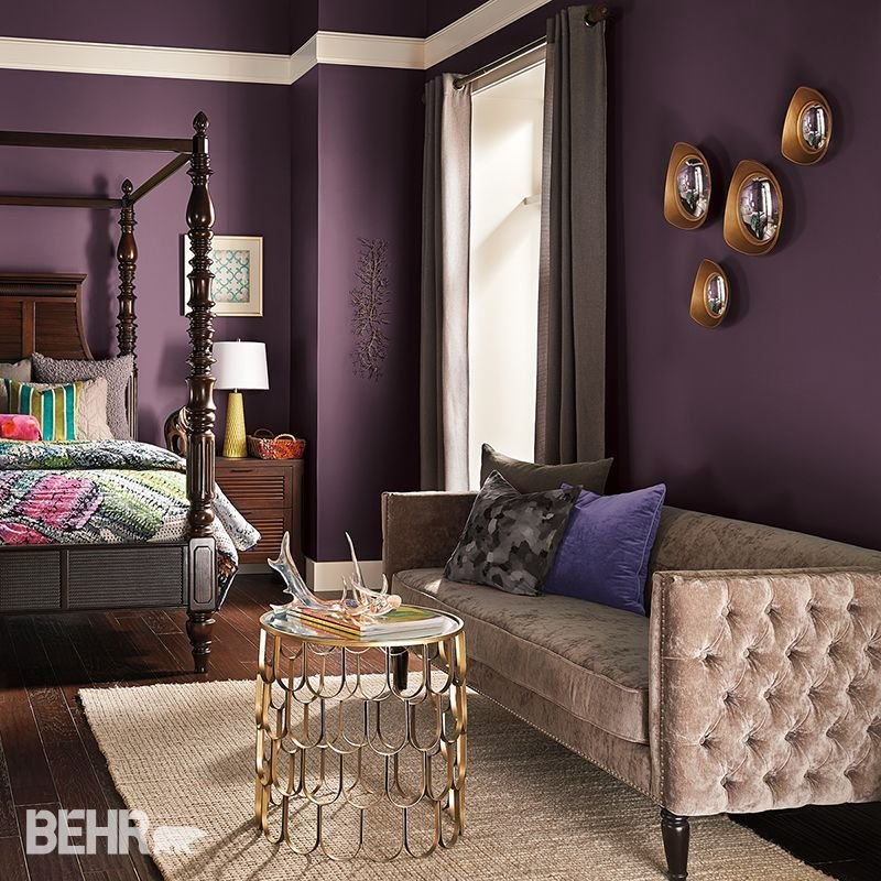 Best Deep Dreams Dark Colors Will Transform A Bedroom Into A Dreamy Mythical Landscape Layers Of With Pictures