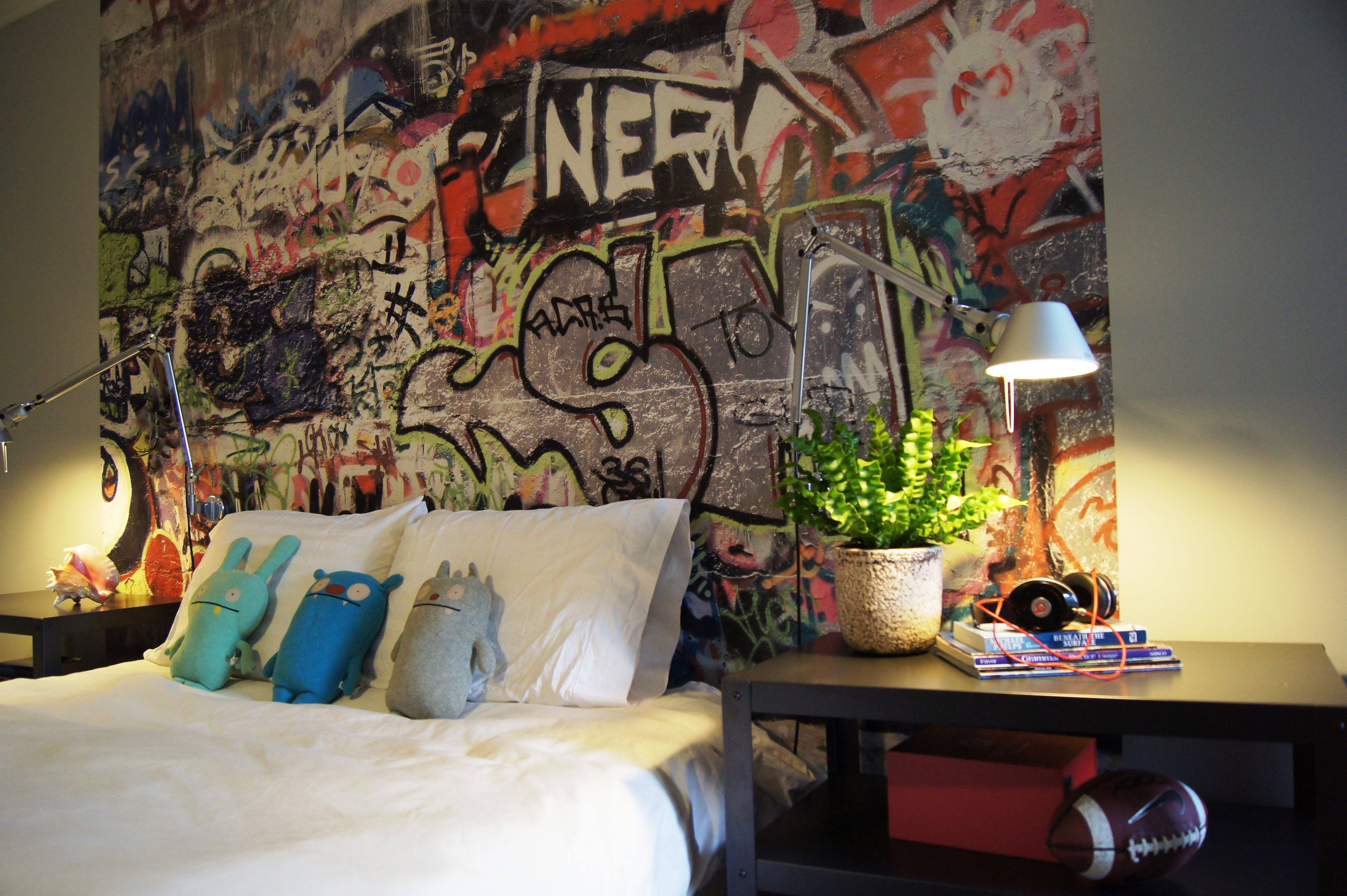 Best Teenage Boys Room Graffiti Interiors Boys Room Decor Graffiti Bedroom T**N Room Decor With Pictures
