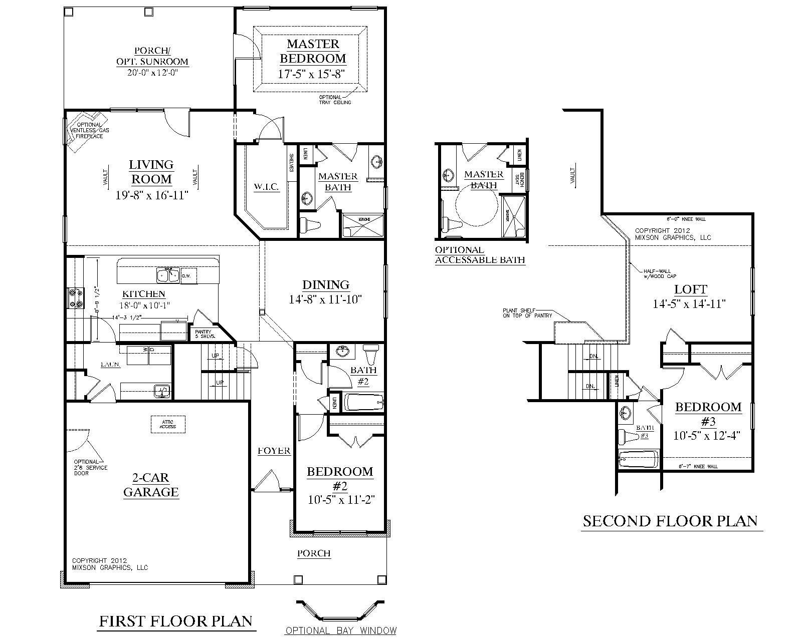 Best House Plan 2224 Kingstree Floor Plan Traditional 1 1 2 With Pictures