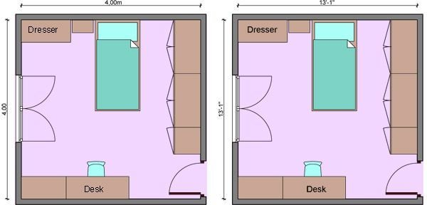 Best Kids Bedroom Dimensions Child S Room Measurements With Pictures