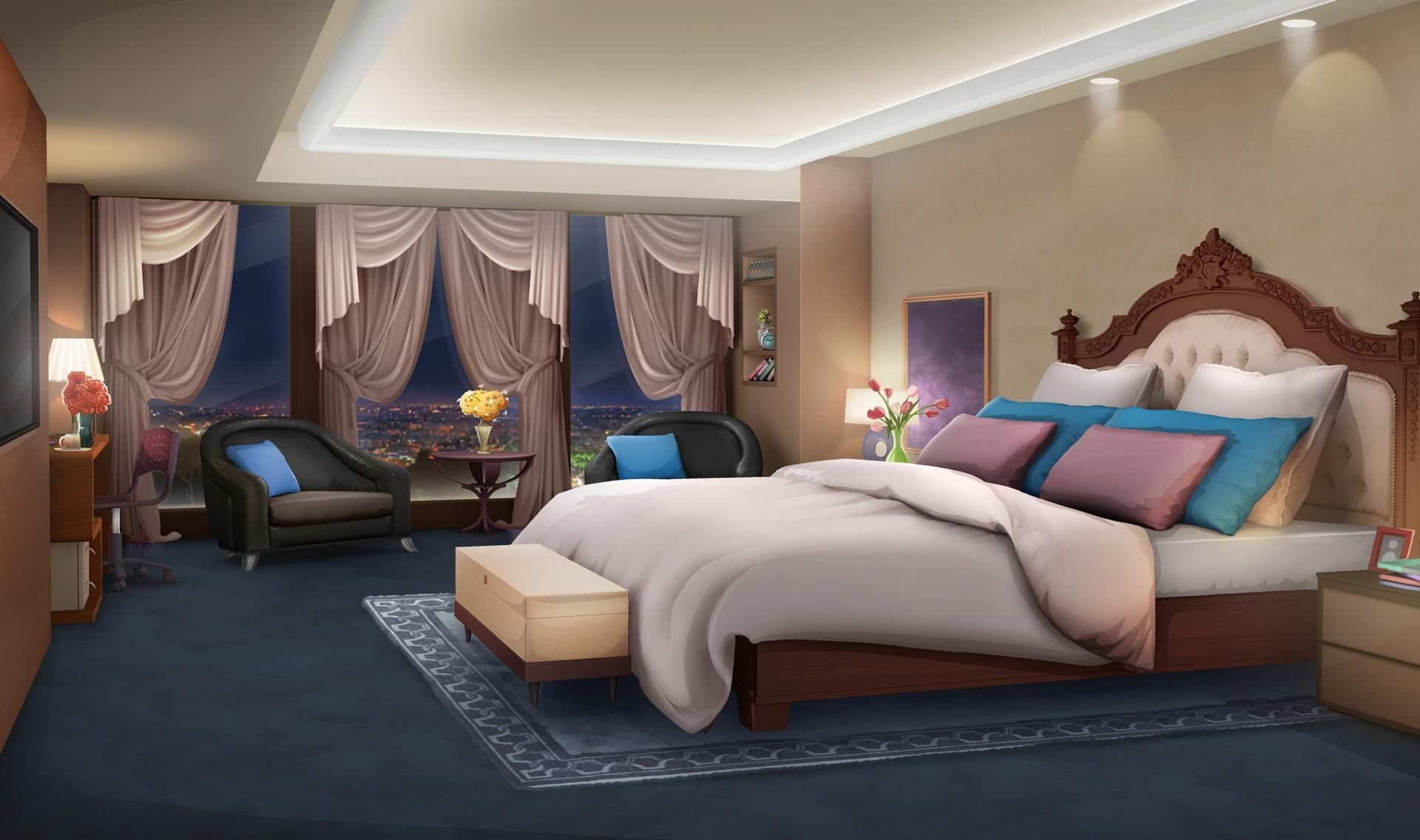 Best Int Euro Hotel Room Flowers Flipped Night Episode With Pictures