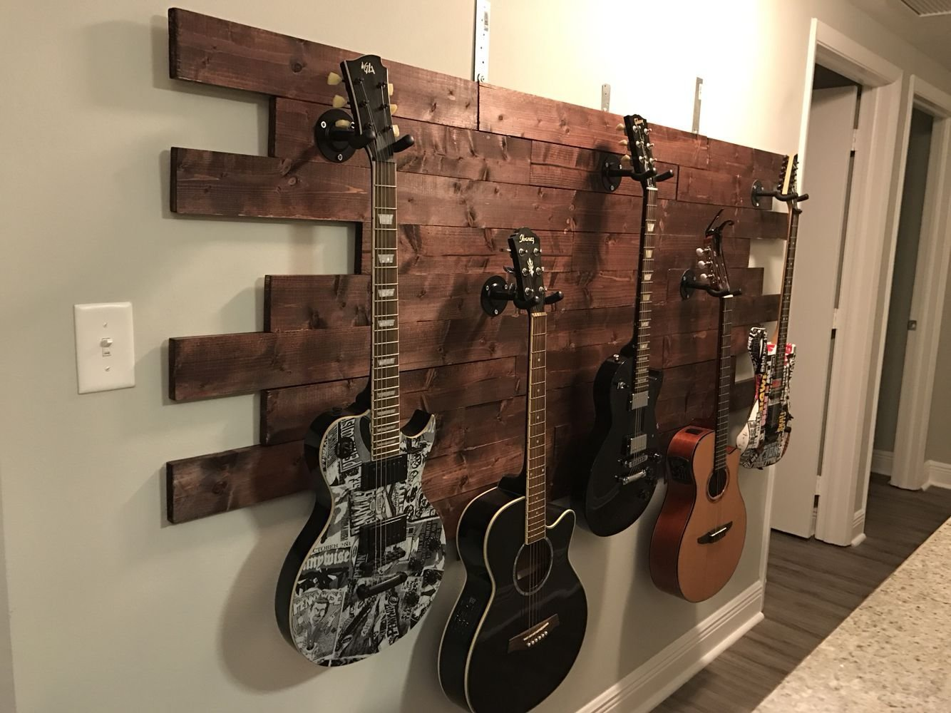 Best Luisa S Guitar Display Pinterest Idea Wood Wood Glue With Pictures