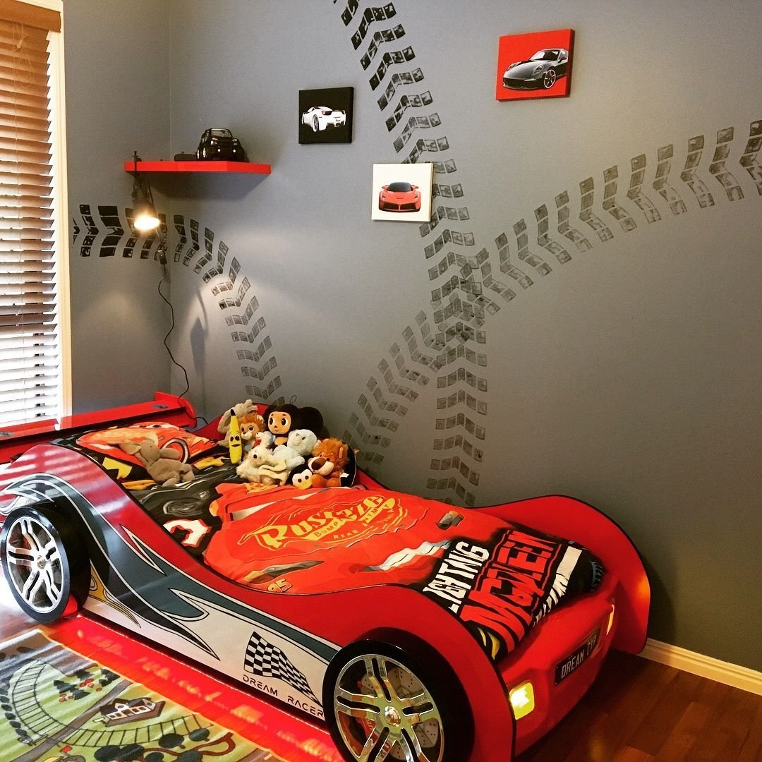 Best Racing Theme Room For Our 3 Year Old Boy Room Bedroom With Pictures
