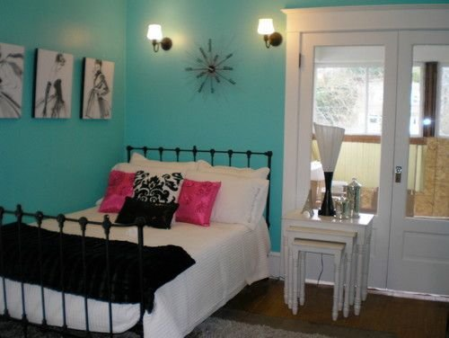 Best Sw 6937 Tantalizing Teal Guest Room Bedroom Paint With Pictures