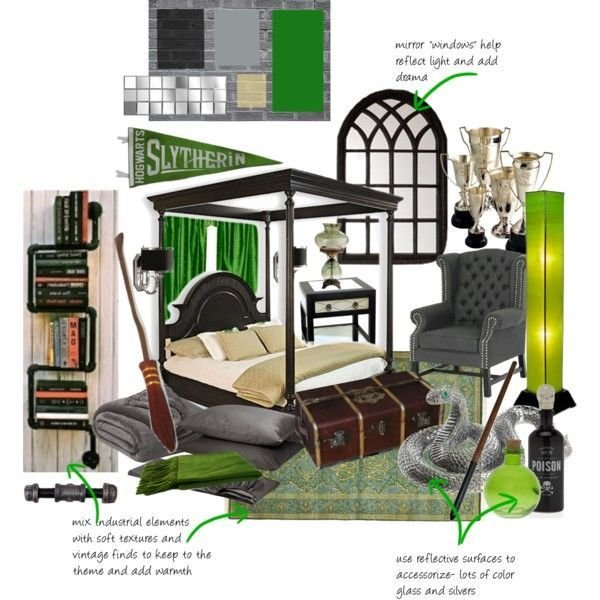 Best Slytherin Dorm Room Slytherin Dorm Room And Dorm With Pictures