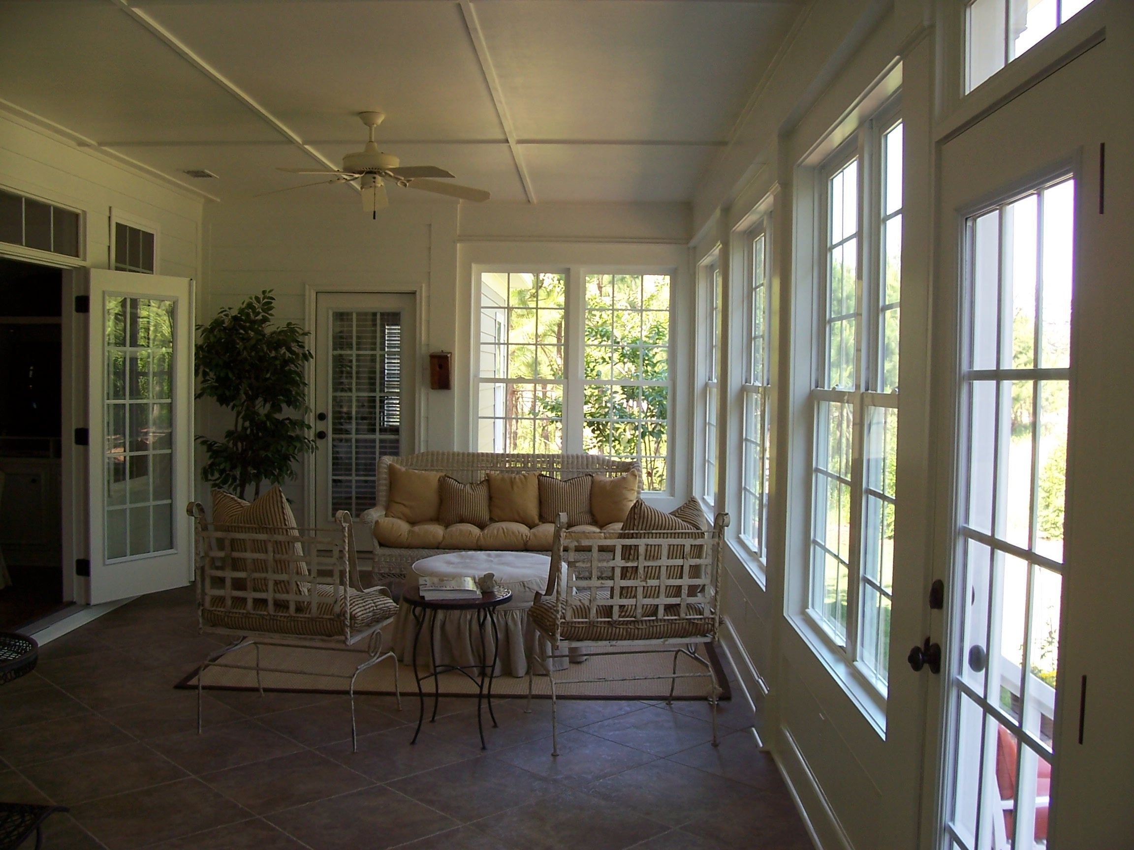 Best Remodel Project Former Screen Porch Converted Into A With Pictures