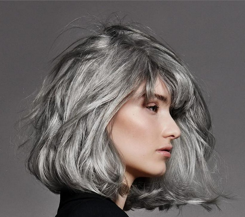 Free Salt And Pepper Gray Hair Grey Hair Silver Hair White Wallpaper