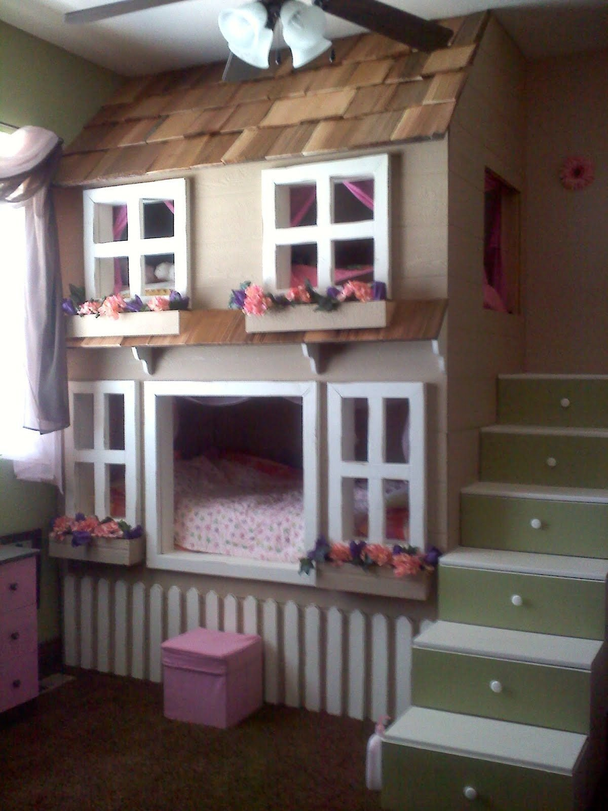 Best Bunk Beds Play House For My Boys It Would Need To Look With Pictures