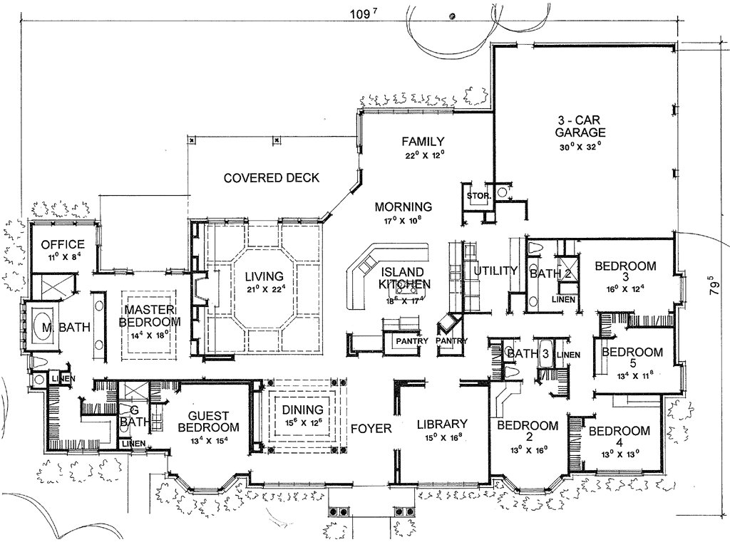 Best Sure Don T Need 6 Bedrooms A Library Etc But I Like With Pictures