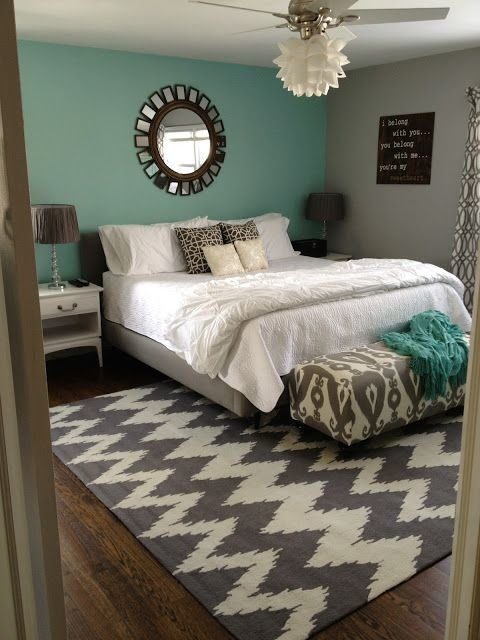 Best Grey And Teal Bedroom Fingers Crossed We Get The With Pictures