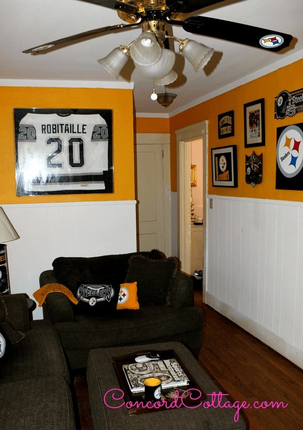 Best Pittsburgh Steelers Family Room Steelers Decor Football With Pictures