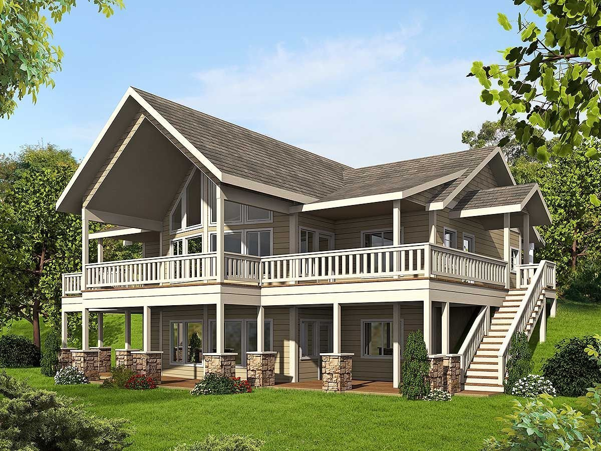 Best Plan 35511Gh Mountain House Plan With Up To Four Bedrooms With Pictures