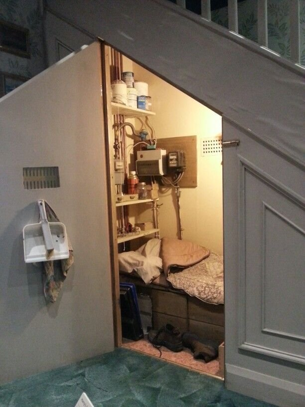 Best Harry Potter S Bedroom Under The Stairs Wb Studio Tour Uk With Pictures