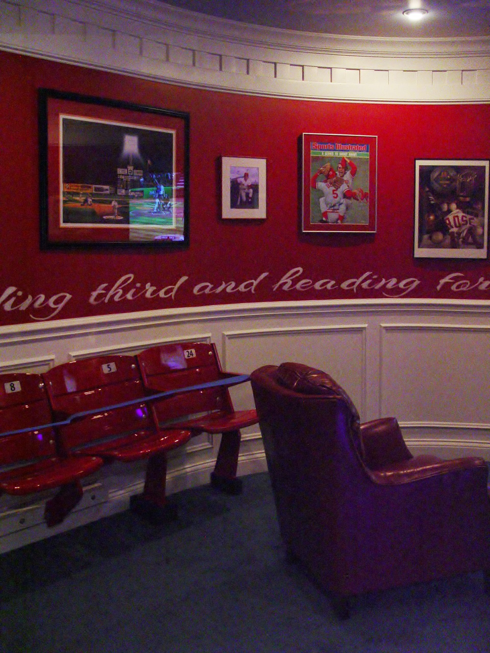 Best Cincinnati Reds Room Homearama Carriage Hill 2013 Man With Pictures