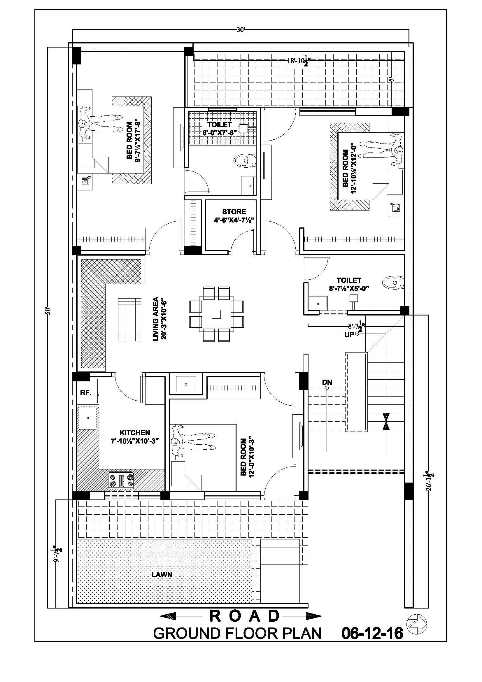 Best 30 50 House Map Floor Plan Ghar Banavo Prepossessing By With Pictures