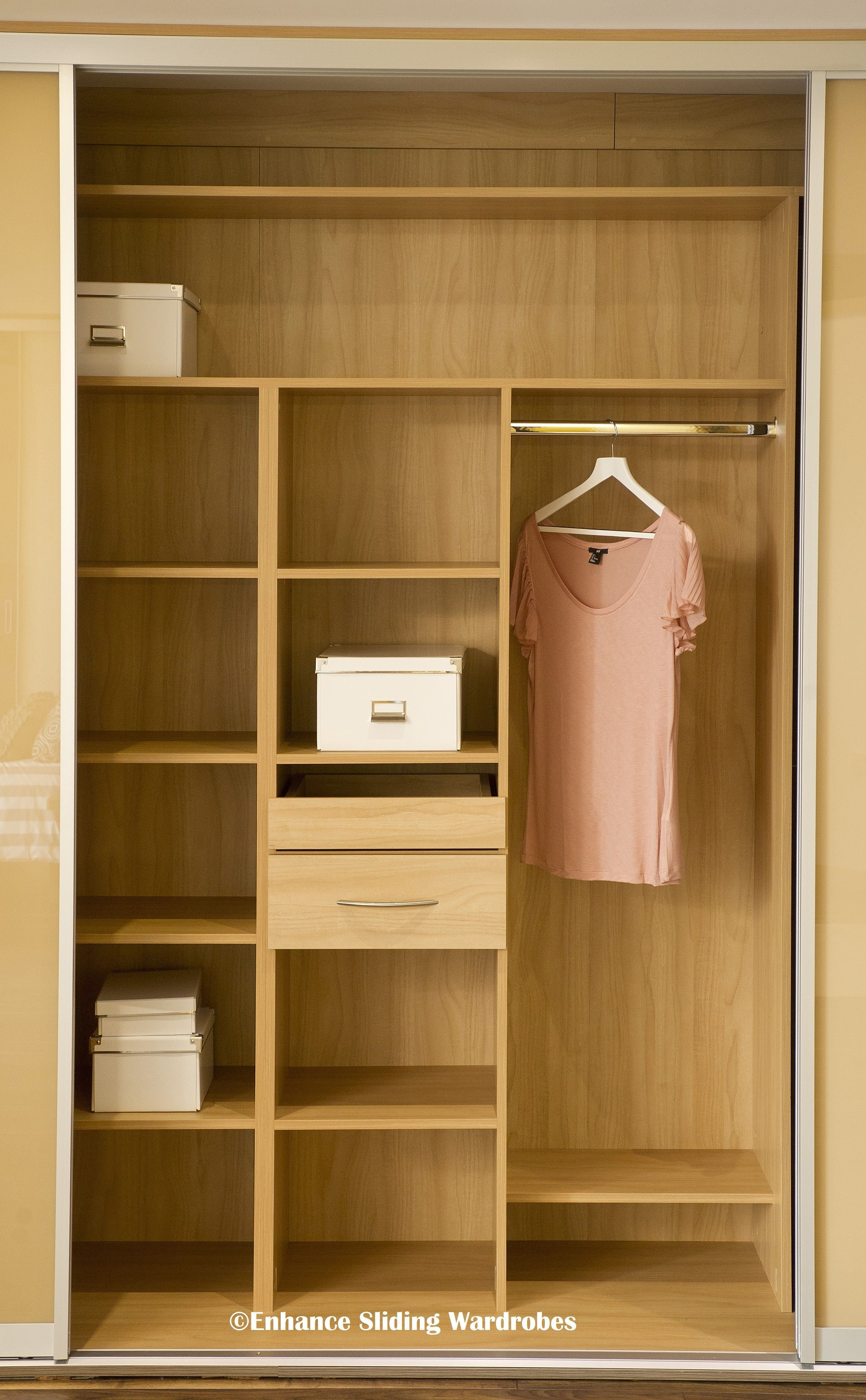 Best Oak Interiors For Fitted Wardrobe Closet Storage With Pictures