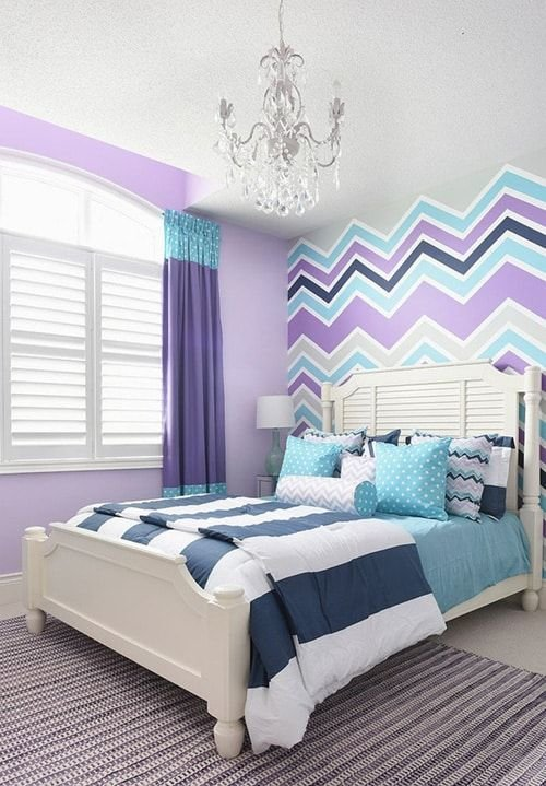 Best 28 Nifty Purple And Teal Bedroom Ideas House Projects Girls Bedroom Kids Bedroom Purple With Pictures