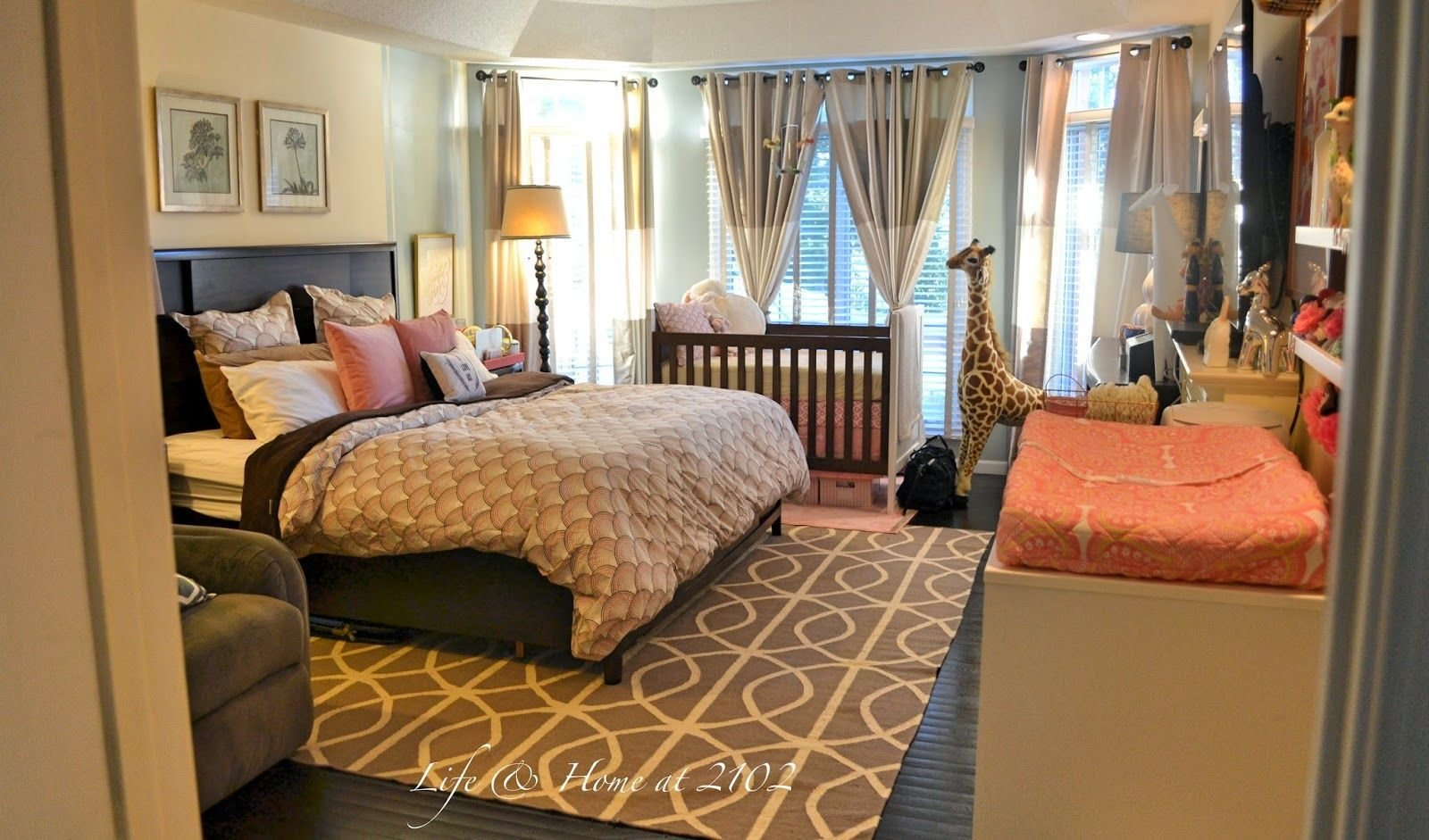 Best Life Home At 2102 Master Bedroom With Nursery Reveal With Pictures