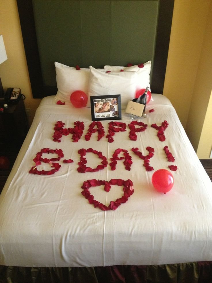 Best Image Result For Romantic Birthday Surprises For Her With Pictures