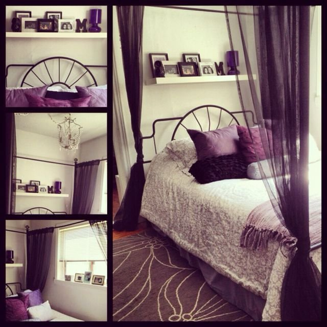Best My Bedroom Purple Black Grey And White My Stuff With Pictures