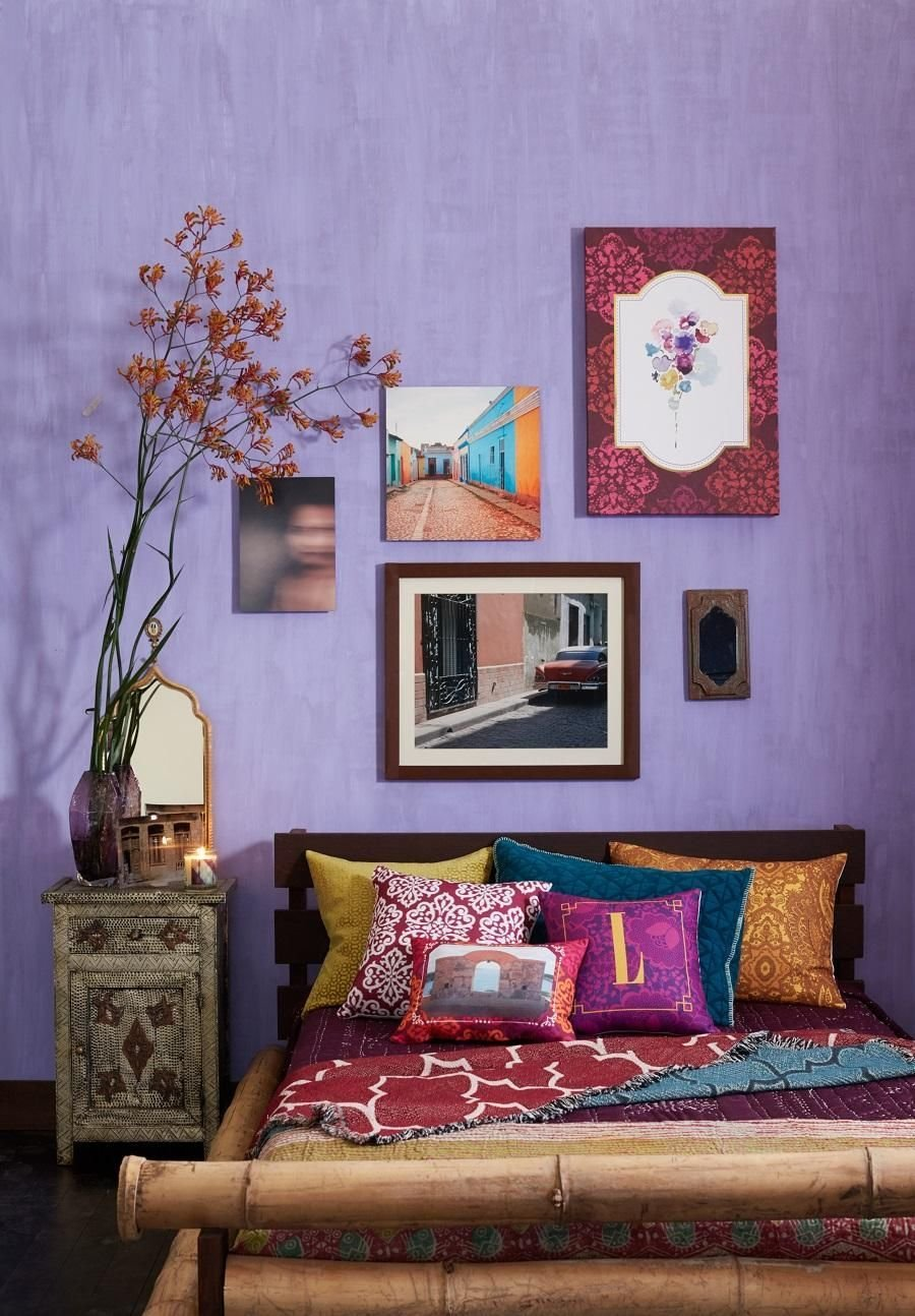 Best Our Wanderlust Retreat Bedroom Features Pops Of Color And With Pictures