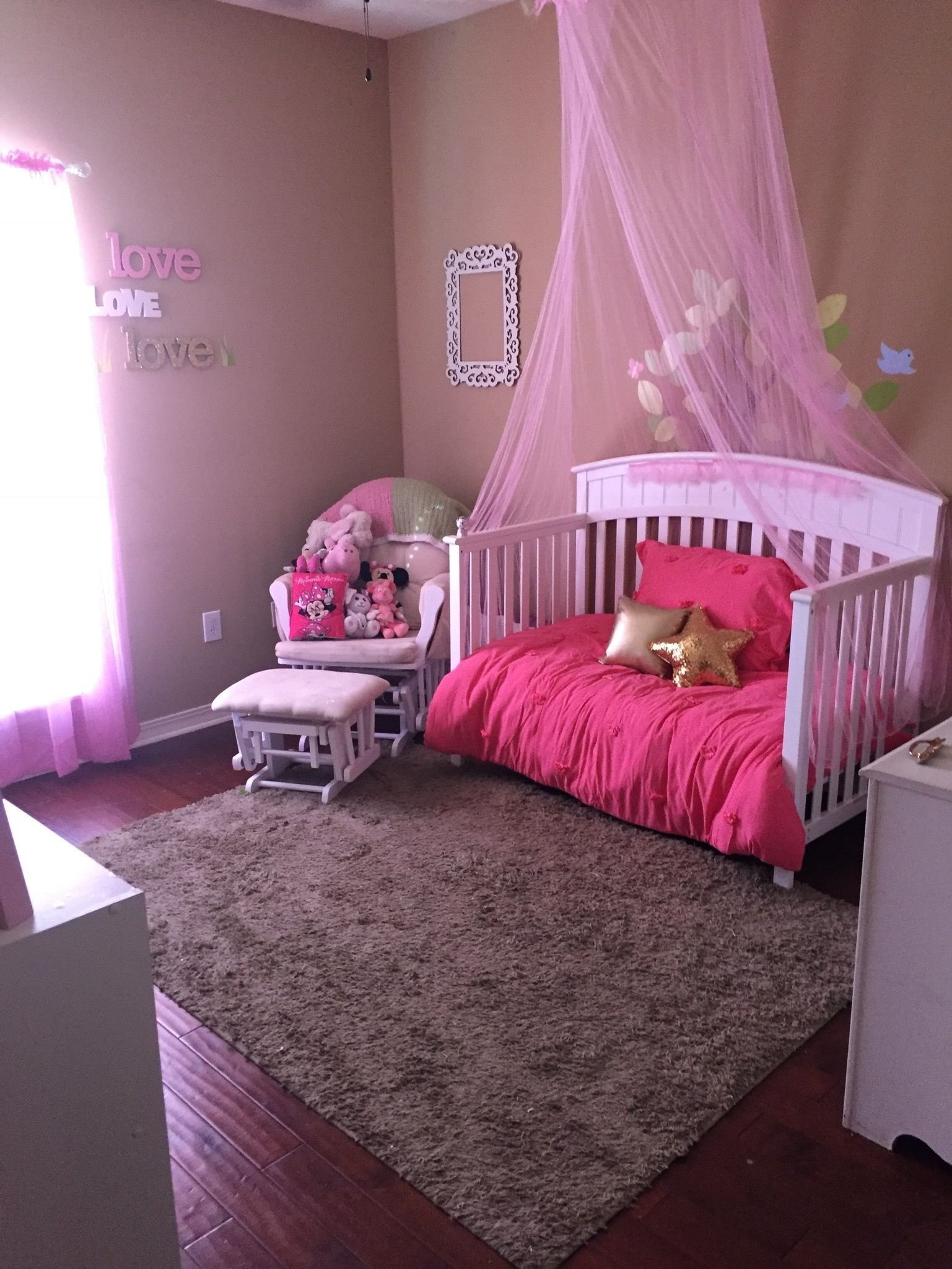 Best Princess Bedroom Toddler Girls Bedroom Diy Pink Love With Pictures