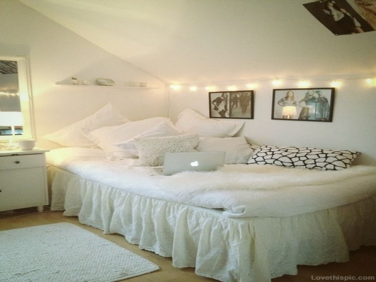 Best Cute Girl Bedroom Ideas White T**N Room Chair White With Pictures