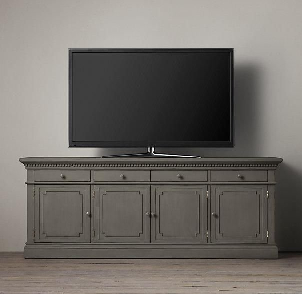 Best St James 84 Wood Media Console I Restoration Hardware With Pictures