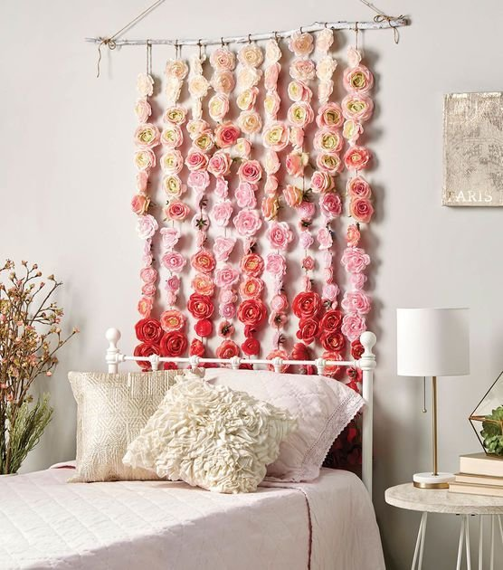 Best How To Make A Rose Garland Diy Home Decor Home Decor Diy Home Decor Diy Room Decor With Pictures