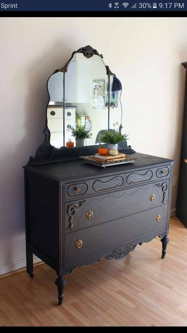 Best Antique Dresser W Miror Furniture I Like Want In 2019 With Pictures