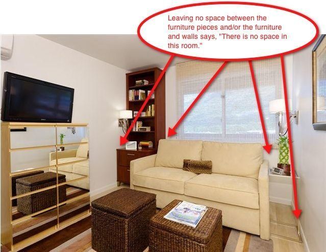 Best Staging Small Spaces Part 3 Furniture Arrangement With Pictures