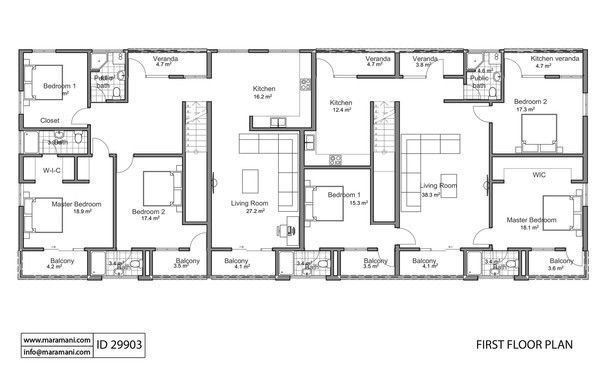 Best Apartment Building Floor Plan Id 29903 Floor Plans And With Pictures