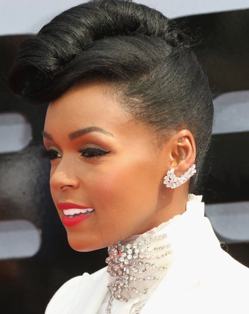 Free Janelle Monae French Roll Naturalhair Celebrity Hair Wallpaper