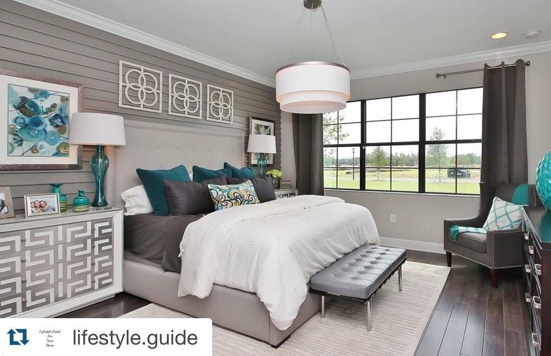 Best Property Brothers Beautiful Neutral Master With Pops Of With Pictures