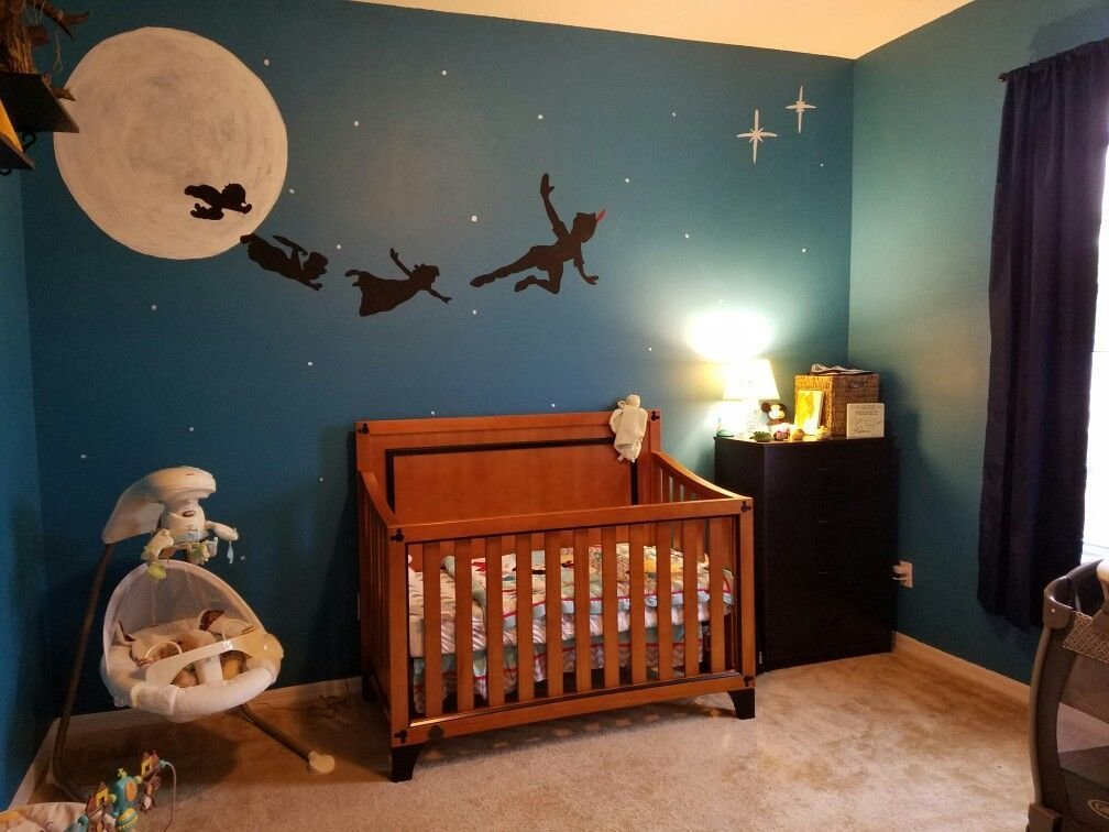 Best Just Finished Painting Our Sons Peter Pan Nursery Very With Pictures