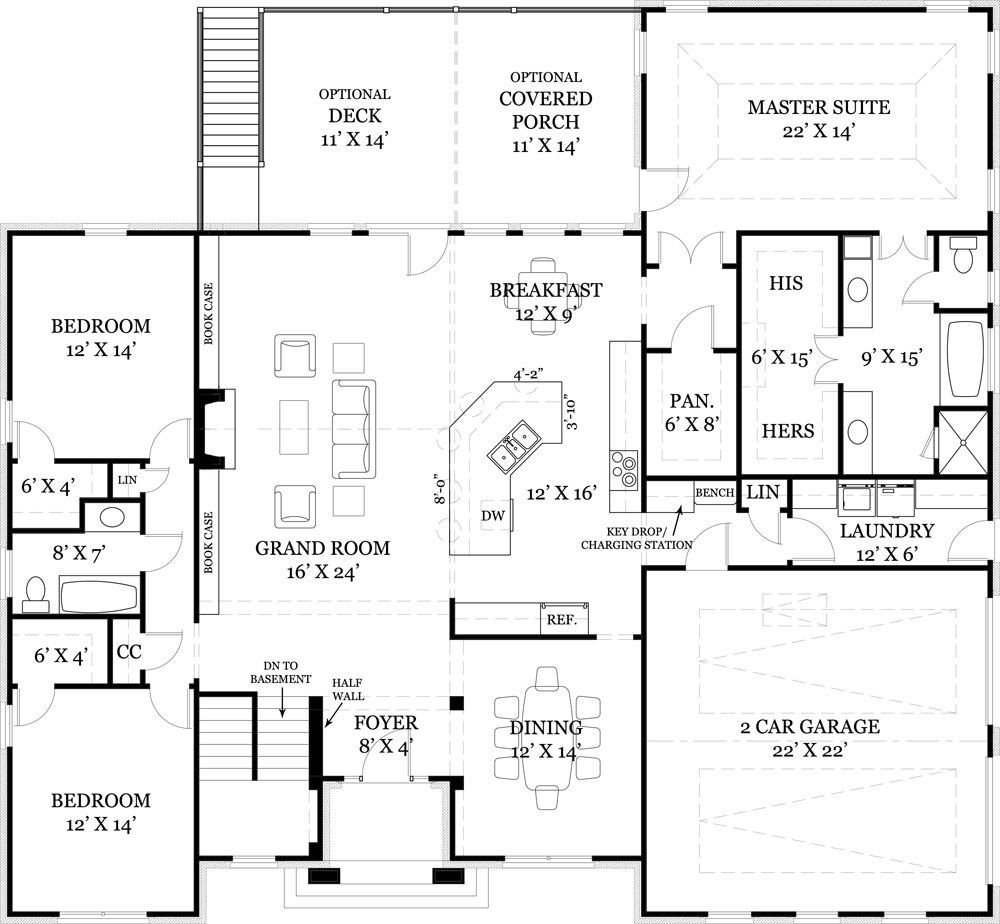 Best Ranch Floor Plan This Is Pretty Much My Dream Home With Pictures