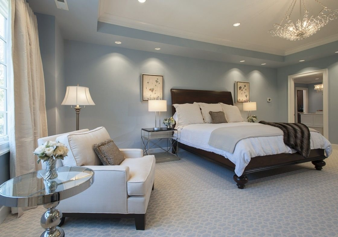 Best Bedroom Window Treatment Ideas Featured In Light Blue With Pictures